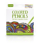 Crayola Colored Pencils, 50 Count Set,