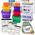Efficient Nutrition Portion Control Containers Kit (7-Piece)