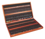 Derwent Colored Pencils, Colorsoft Pencils, Drawing, Art, Wooden Box, 72 Count
