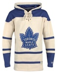 NHL Men's Vintage Lacer Toronto Maple Leafs Heavyweight Hoodie